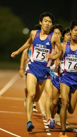2014_中実選手権(10000m:藤森).jpg