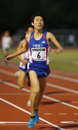2014_中実選手権(5000m:藤森).jpg