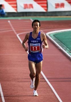 110131_梅木選手インタヒ゛ュー5(防府マラソン2.jpg