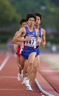 2015_中実選手権(10000m:藤川).JPG